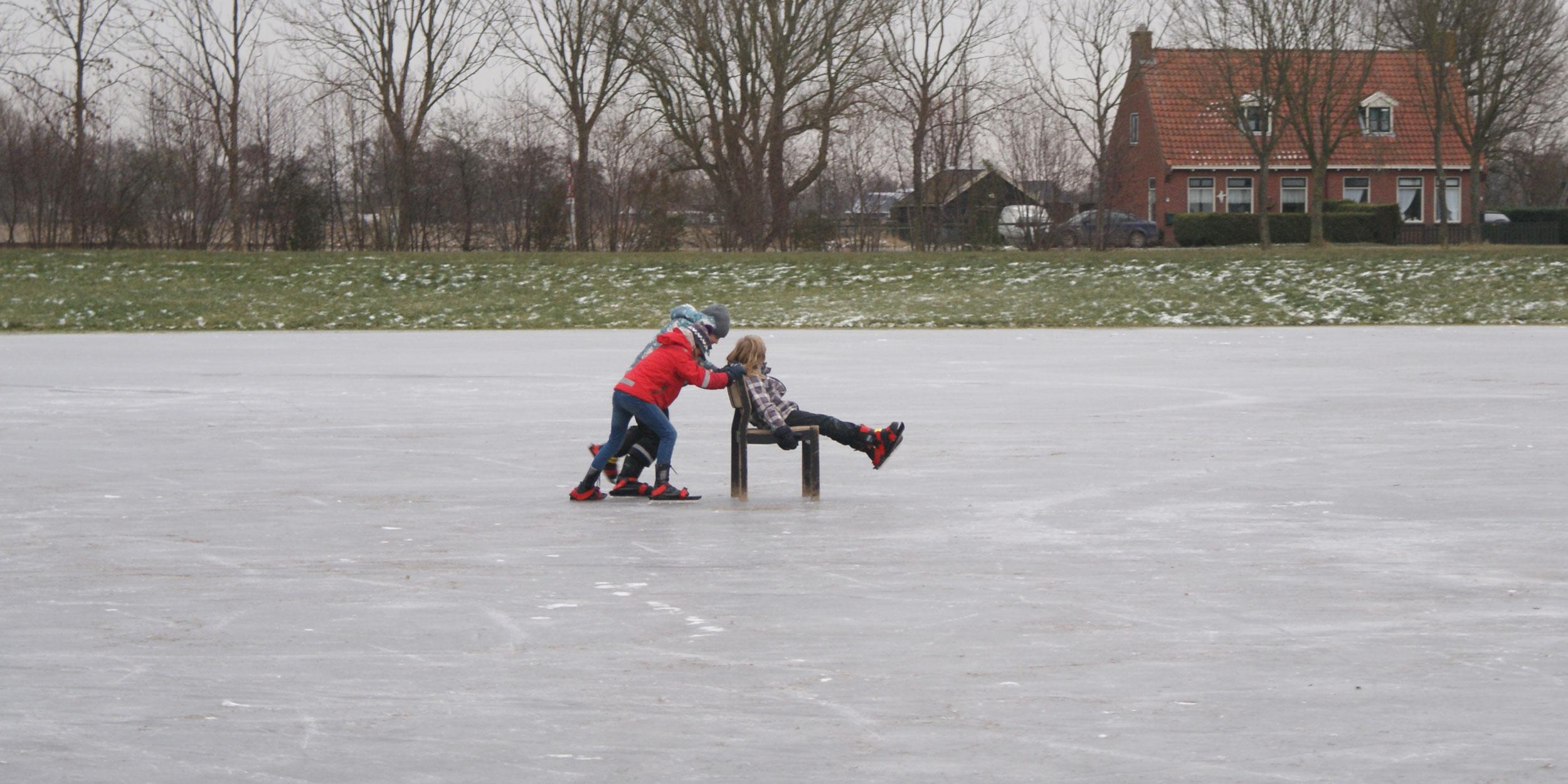 kinderen ijsbaan